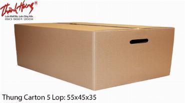 Bán thùng carton giá rẻ tại Quận 2