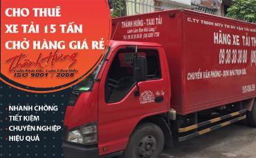 Cho thuê xe tải 15 tấn chở hàng giá rẻ