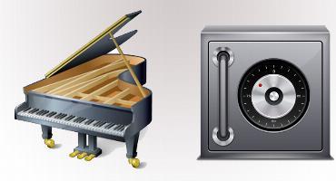 Dịch vụ Chuyển Đàn Piano - két sắt