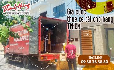 Giá cước thuê xe tải chở hàng TPHCM